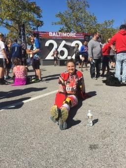 The Baltimore Marathon (2016).