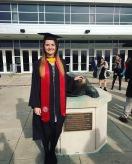 UMD Graduation. College Park, MD (2016).