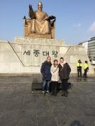 King Sejong. Seoul, South Korea (2017).
