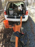 The key to groundwater sampling is having a good set up. MD (2017).