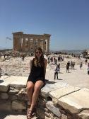 The Acropolis! Athens, Greece (2017).