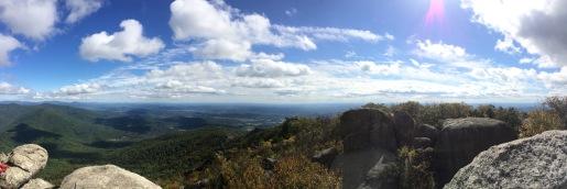 Old Rag Hiking. Virginia (2014).