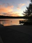 Evening Runs around Lake Raleigh. Raleigh, NC (2017).