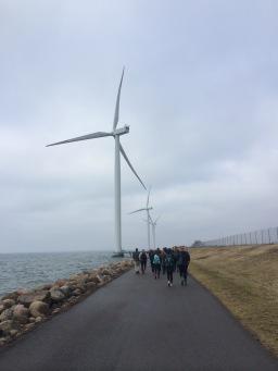 Wind Turbines in Denmark (2015).