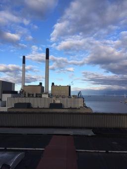 Amager-Bakke Waste Plant planning on running on fossil-fuel free biomass in 2020 with a ski slope for city-integration. Copenhagen, Denmark (2015).