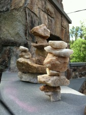Rock stacking is a family past time... MD (2015)