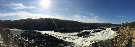 Great Falls on the Potomac River. MD (2016).